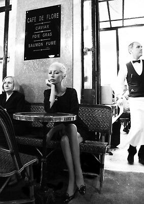 """Reproduction """"Wendy James - Cafe De Flore"""", Transvision Vamp, Indie, Wall Art"""