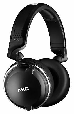 AKG K182 Professional Closed-Back Recording Studio Monitor Headphones/Swivel