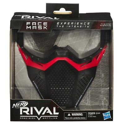 Nerf Rival Face Mask Blue or Red - NEW