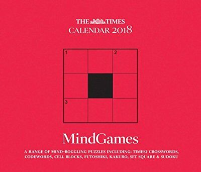 Mind Games the Times 2018 B (Box) Book The Cheap Fast Free Post