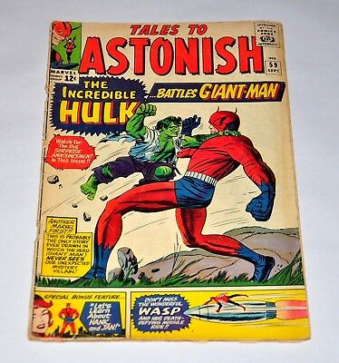 Tales To Astonish 59 Silver Age Incredible Hulk Battles Giant-Man