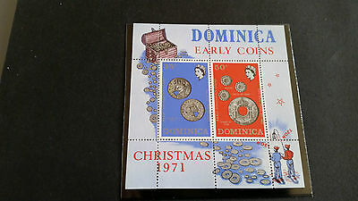 Dominica 1972 Sg Ms351 Coins Mnh