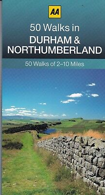 50 Walks in Durham & Northumberland by AA Publishing (Paperback) New Book