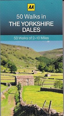 50 Walks in Yorkshire Dales by AA Publishing (Paperback) New Book