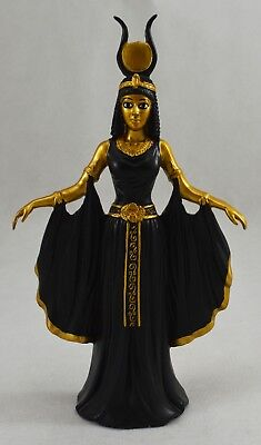 Superb Egyptian Queen Cleopatra Gold Statue/Figurine/Ornament Gift/Present