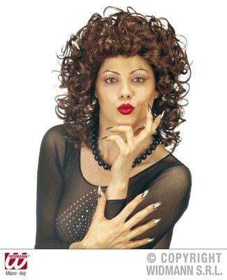 Milly Wig for Late 80s Ladies Loose Perm Fancy Dress Accessory