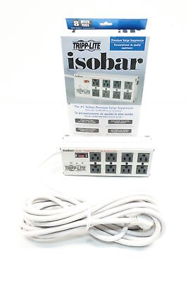 New Tripp Lite ISOBAR825ULTRA Isobar 8 Outlet Surge Suppressor 25ft
