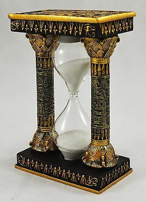 Superb Collectable Egyptian Sand Timer Hourglass Statue/Ornament/Figurine NEW!!