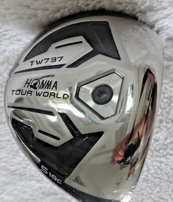 "Honma""Tour World TW 737"" Holz #5 ~ 18c Grad ~ Herren ~rechtshand ~ Regular ~ Neu"