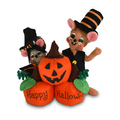Annalee Dolls 5in 2018 Halloween Pumpkin Patch Plush New with Tags