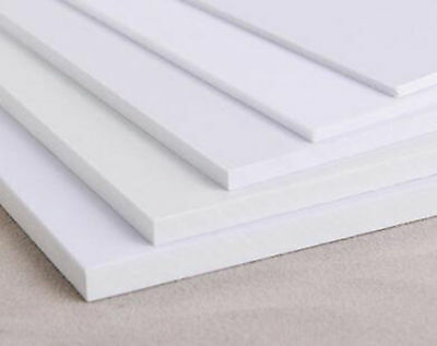 ABS Styrene Plastic Flat Sheet Plate 0.5mm x 200mm x 200mm white 1pcs