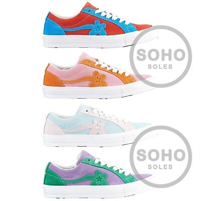 Converse Golf Le Fleur Tyler Creator One Star Blue Red Pink Orange Green Purple