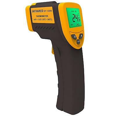 Temperature Gun Digital Thermometer Non Contact Laser Infrared Temp Meter Gadget