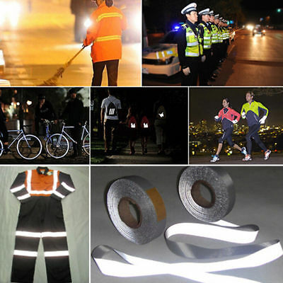 High Visibility Safety with Reflective Tape New 5cm x 3M