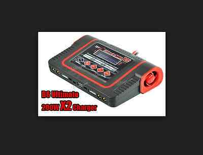 Skyrc Ultimate 200W X2 10AMP Balance Charger Caricabatterie SK-100038-01