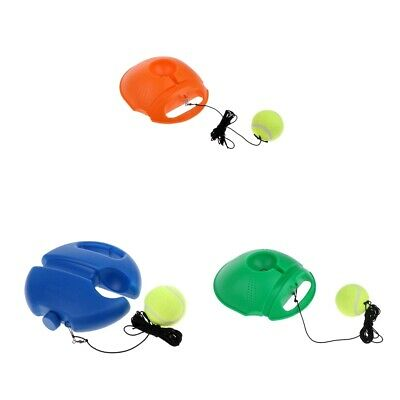Tennis Ball Training Practice Balls Back Base Trainer Self-study Tools