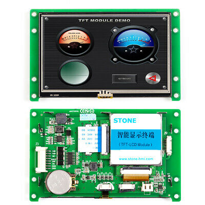 "4.3"" HMI Display STONE TFT LCD Touch Screen User Interface Design"