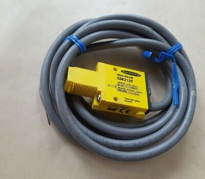 Banner Sm312F Mini Beam Sensor  (In7S3B3)