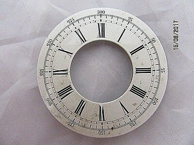 Pocket Watch Dial Outer Ring Only, for Spares or Repairs, 14
