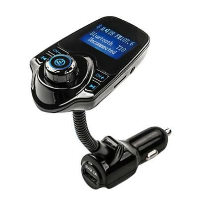 Wireless In-Car Bluetooth FM Transmitter MP3 Car Kit Radio Adapter USB Charger