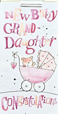 New baby greeting card new baby granddaughter congratulations new baby greeting card new baby granddaughter congratulations ling design m4hsunfo