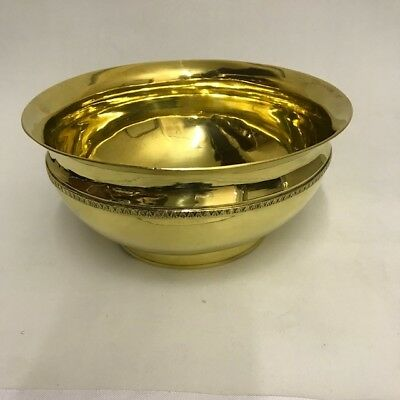 RARE RUSSIAN SILVER GILT BOWL 1808 BY Ivan Vilayov
