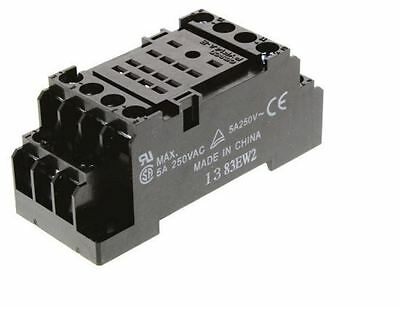 Bulk Lot Of 11x Omron Surface/DIN Rail Mount Relay Bases