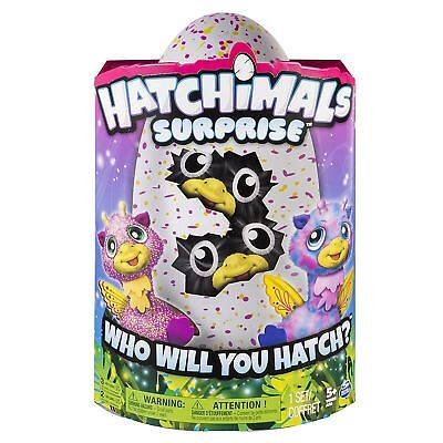 Hatchimals Surprise Twins Giraven Pink Egg,  Interactive hatching toy - New