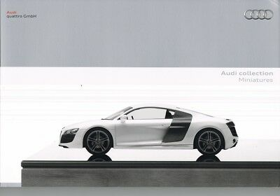 Audi Collection of Minatures (Diecast Models) Catalogue 1/18 1/43 1/64 1/87