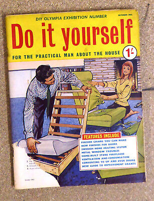 Vintage do it yourself magazine october 1962 diy olympia vintage do it yourself magazine october 1962 diy olympia exhibition number solutioingenieria Gallery