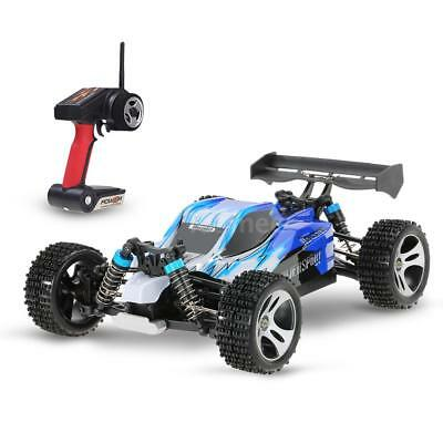 2018 Wltoys A959 Upgraded Version 1/18 2.4G 4WD RTR Off-Road Buggy RC Car I8U5