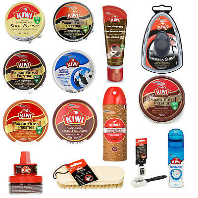 Kiwi Shoe Polish and Boot 50ml Tins - Choose your colour - Large range available