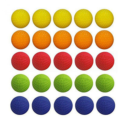 Pack of 100 Balls For Nerf Rival Zeus Apollo Refill Toys Compatible Gun Bullet
