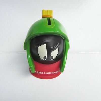 Vintage Marvin the Martian Bank - Greetings  Earthlings  1997 - Never Used