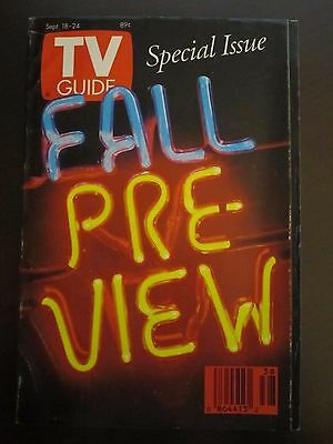 TV Guide September 1993 Fall Preview New Mexico Newsstand No Label