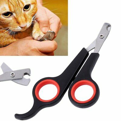 Pet Dog Cat Rabbit Bird Guinea Pig Claw Nail Clippers Trimmers Scissors Kit Tool