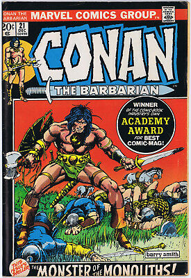CONAN THE BARBARIAN 21 Marvel Comics 1972 Barry Windsor Smith P Craig Russell
