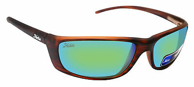 0371796b2f Hobie CABO Satin Brown Wood Frame Copper Sea Green Polarized Lens Sunglasses