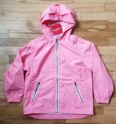 NWT HANNA ANDERSSON WIND AT YOUR BACK ANORAK JACKET PINK FLOWER 140 10