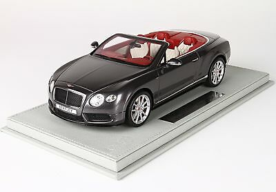 Bentley Continental Gt V8-S Cabriolet 2014 With Showcase BBR 1:18 P1887BV Model