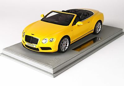 Bentley Continental Gt V8-S Cabriolet 2014 With Showcase BBR 1:18 P1887CV Model