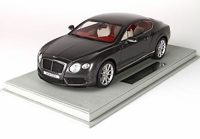 Bentley Continental Gt V8-S Coupe 2014 + Vetrina With Showcase BBR 1:18 P1886CV