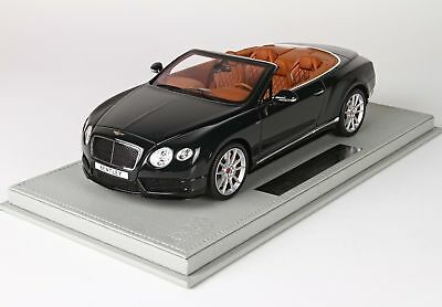 Bentley Continental Gt V8-S Cabriolet 2014 With Showcase BBR 1:18 P1887DV Model