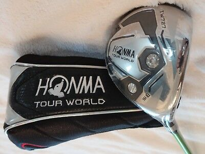 "Honma""Tour World TW 727"" Holz #3 ~ 15 Grad ~ Herren ~ rechtshand ~ Regular ~ Neu"