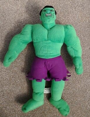 Incredible Hulk Soft Plush Toy  Large  14""