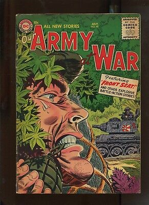 Our Army At War #48 (7.0) Front Seat