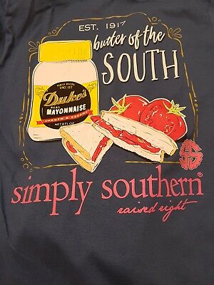 NWT-*see note Simply Southern- Butter of the South long sleeve shirt size small