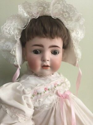Antique Bisque Doll by Franz Schmidt On A Comp Body 16.5""