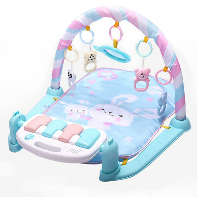 Baby Play Mat Baby Gym Toys 0-12 Months Soft Lighting Rattles Musical Toys D6G8