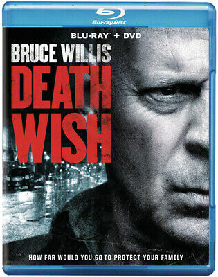 Death Wish [New Blu-ray] With DVD, Widescreen, Dolby, Digital Theater System,